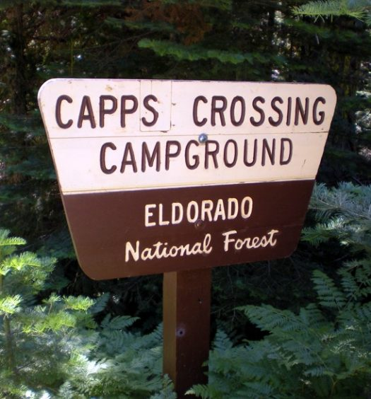 Capps Crossing Sign